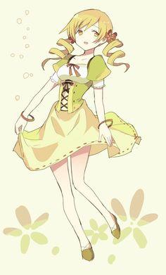 Mami Tomoe from Puella Magi Madoka Magica #anime