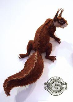 Harris tweed squirrel