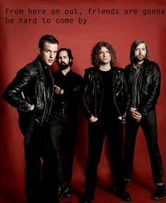 The Killers: Brandon Flowers, Ronnie Vannucci Jr., Dave Keuning and Mark Stoermer Brandon Flowers, Music Is Life, Live Music, Rock Music, The Killers, Recital, Beatles, Life Is Beautiful Festival, Mr Brightside