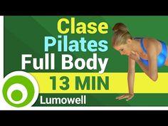 Pilates en Casa - Clase de Pilates Completa en Español - YouTube