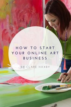 Something I often hear from both aspiring and established artists is how they want to develop their online art business, but they just don't have the know-how. My response to them is that while there may be a learning curve, there are lots of great (and i Arte Online, Online Art, Online Jobs, Craft Business, Creative Business, Business Tips, Online Business, Business Articles, Business Formal