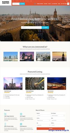 Business Directory Theme By Templatic Themes  http://www.frip.in/business-directory-theme-by-templatic-themes/