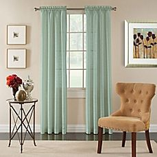 The Pippa panel from Miller Curtains is crafted from a semi-sheer solid color fabric in a lustrous silk-look finish and features a rod pocket for easy installation. Sheer Curtain Panels, Rod Pocket Curtains, Grommet Curtains, Blue Curtains, Colorful Curtains, Window Curtains, Sheer Curtains, Drapery, Coastal Bedding