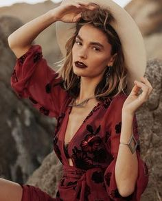 A Modern Southwestern Heritage Brand. Original jewelry designs by Tamar Wider. Valentine's Day Outfit, Outfit Of The Day, Boho Grunge, Heritage Brands, Bae, Wrap Dress, Girls Dresses, Jewelry Making, Hipster