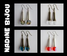 Nadine Bijou - earrings https://www.facebook.com/NadineBijou