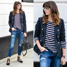 Emma Hill - Zara Boyfriend Jeans - The Classics