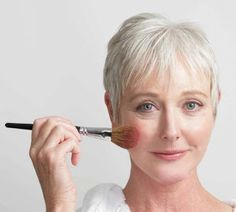 Make up tips for gray hair   Simply Anti Aging