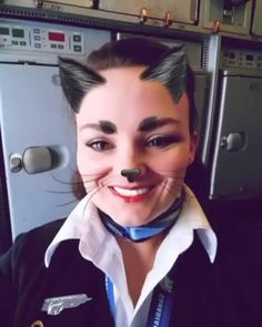 From @alinemandm Too funny! . . . #yfb #iqaluit #instagram #instadaily #instdaily #igers #igdaily #nunavut #thenorth #canadiannorth #seriouslynorthern #fa #falife #flyingislife #flyingtheskies #flightattendent #toofunny #meowt #crew #crewlife #crewfie #crewiser #kitty #kittyoftheday #meow #crewiser #travel #airplane #plane #cabinattendant #crewiser