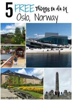 5 FREE things to do in Oslo, Norway plus a few bonus activities on a budget! #wanderlust #oslove