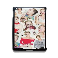 Miley Cyrus College TATUM-7236 Apple Phonecase Cover For Ipad 2/3/4, Ipad Mini 2/3/4, Ipad Air, Ipad Air 2