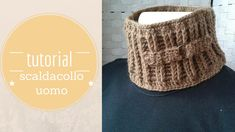 crochet tutorial scarf ♥