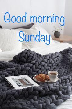 Morning Qoutes, Morning Messages, Sunday Wishes, Happy Sunday, Sunday Humor, New Adventure Quotes, Sunday Coffee, Good Morning Greetings, Merino Wool Blanket