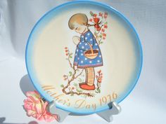 1976 Limited Edition Devotion for Mother Plate