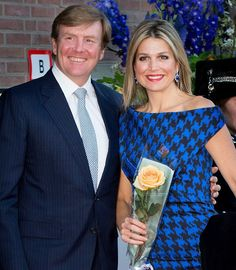 Queen Maxima and King Willem-Alexander of The Netherlands, Princess Beatrix and Princess Margriet of The Netherlands attended the Koningsdagconcert at the Energiehuis on April 14, 2015 in Dordrecht, The Netherlands.