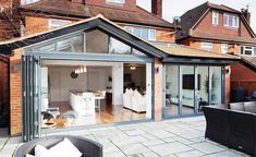 Often built within Permitted Development, a single storey extension can provide . Often built within Permitted Development, a single storey extension can provide much needed extra space for your home House Extension Cost, Building Extension, Extension Designs, Roof Extension, Extension Ideas, Extension Google, Kitchen Extension Semi Detached House, Kitchen Extension Pitched Roof, Bungalow Extension Plans