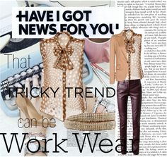 """""""Tricky Trends in Sheer"""" by catiecue on Polyvore"""