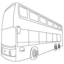Double Decker Coloring Page Coloring Page Transportation Coloring Pages Bus Coloring Pages Decker Bus Coloring Pages