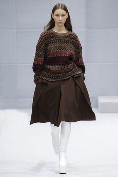 Balenciaga Fall 2016 Ready-to-Wear Fashion Show - Sofia Tesmenitskaya (OUI)