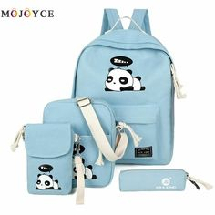 Looking for e-youth Cute Panda Backpack Lightweight Casual Canvas School Backpacks Teen Girls ? Check out our picks for the e-youth Cute Panda Backpack Lightweight Casual Canvas School Backpacks Teen Girls from the popular stores - all in one. Backpacks For Teens School, Backpack For Teens, School Bags, Backpacks For Kids, Cheap Kids Clothes, Urban Fashion Trends, Cool Backpacks, Canvas Backpacks, Leather Backpacks