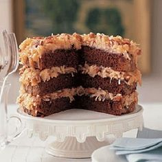 German Chocolate Cake Recipe from Trisha Yearwood