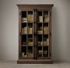 French Casement Cabinets by Restoration Hardware. (Click through for other vintage-inspired furniture!)