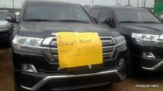 Nigeria Customs Seize Bullet Proof Car From A Hidden House In Ikoyi, Lagos
