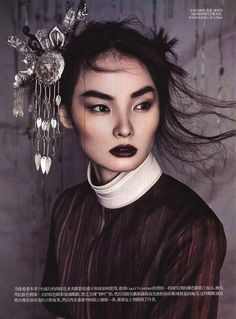 it should be a law that bold lips require bold brows. here's the reason why! perfectly balanced look.