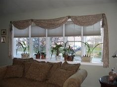 Bow Window Treatment Pictures Have A Not Bay But Close Enough