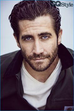 Jake Gyllenhaal photographed for the fall-winter 2016 issue of British GQ Style.
