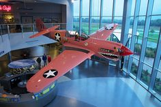 P-40 Kittyhawk at the Kalamazoo Air Zoo, Kalamazoo, MI, by bill.d, via Flickr