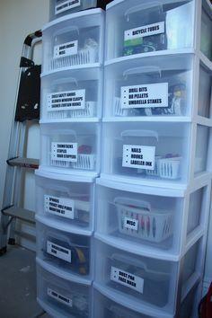 Garage Organization!  www.kelleymorrison.com