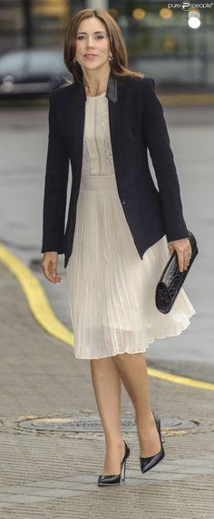 La princesse Mary de Danemark lors de la 1e conférence globale européenne sur la contraception et les soins liés à l'enfantement, le 22 mai 2013 à Copenhague.
