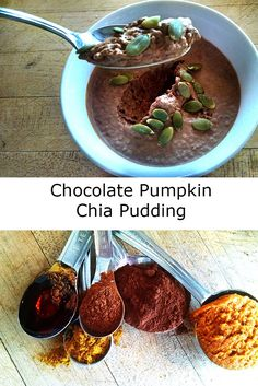 Chocolate Pumpkin Chia Pudding