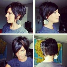 Great Pinterest find! #fronttobackfriday #fronttobackpixie #pixie360. If anyone knows person tag them and say who it is