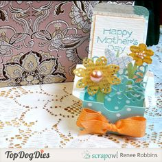 "How To Make A ""Card In A Box"" - Top Dog Dies Blog"