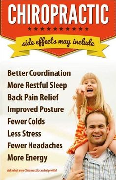 #Chiropractic side effects may include: Better coordination, More restful sleep… Chiropractic Arts Center of Austin, P.C. :: www.cacaustin.com :: (512) 346-3536