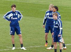DAT SMILE Leon Goretzka   Philipp Max   Leroy Sane   Max Meyer    FC Schalke 04