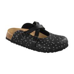 Birkenstock Papillio Dorian Star Black Clogs