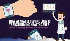 How Wearable Technology is Transforming Healthcare? #Infographic