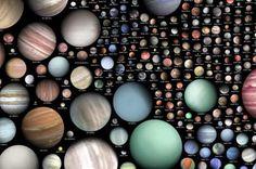 IMPRESSIONANTE: Este Gráfico Mostra Mais de 500 Exoplanetas, Confira!!