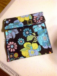 Snack Bag tutorial with fusible vinyl