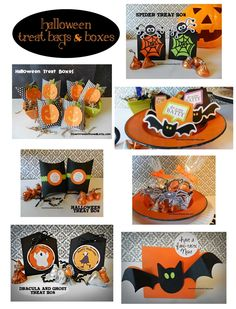 Lots of Halloween Treat Boxes for Party Favors, Classroom Treats and Trick or Treaters-or what about your co-workers - Office Treats!
