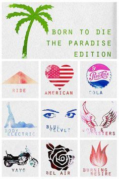 Lana Del rey ~ Born to Die The Paradise Edetion