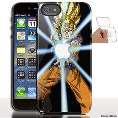 Étui iphone 5 en Silicone personnalisé Dragon Ball Z - Coque souple - Gel - Pour Apple iPhone 5s, iPhone 5. #Dragon #Z #iPhone5s #Etui