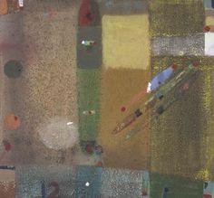 Merlin James, acrylic on canvas