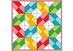 This month your mini quilt wall is going to grow a little bit bigger and a  lot cuter! Here's your free mini quilt pattern for May... Criss Cross by  Nadra Ridgeway.