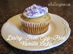 Dairy-Free, Egg-Free Vanilla Cake.  One of our Top 5 Blog Posts!  Basic Ingredients.