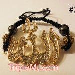 gold-muslim-allah-shamballa-bracelet