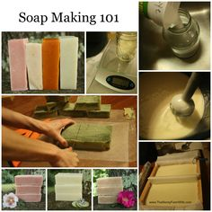 How to make cold process soap.