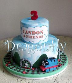 Thomas Cake Cute!